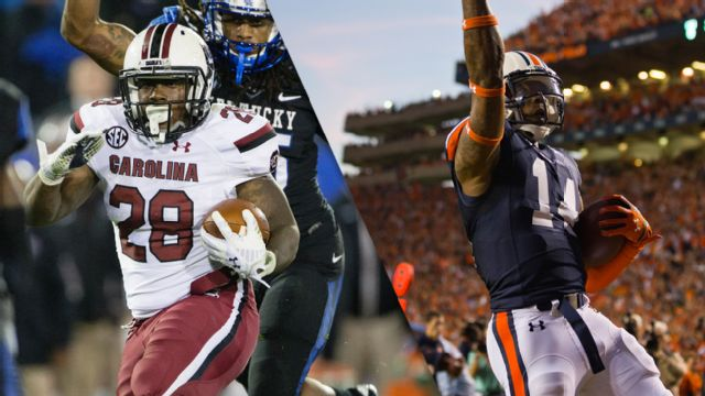 South Carolina vs. #5 Auburn (Football)