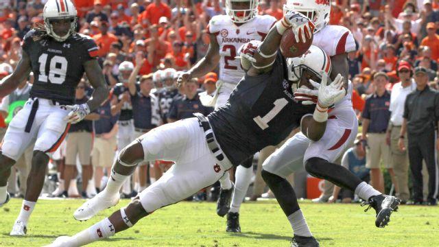 Arkansas vs. #6 Auburn (Football)