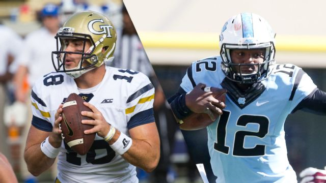 Georgia Tech vs. North Carolina (Football) (re-air)