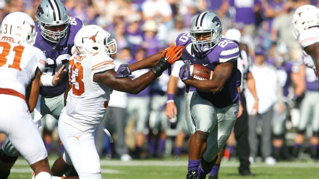 Texas vs. #11 Kansas State (Football) (re-air)