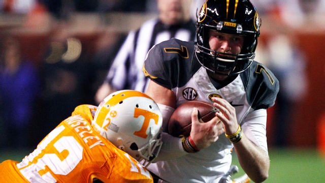 Missouri vs. Tennessee - 11/22/2014 (re-air)