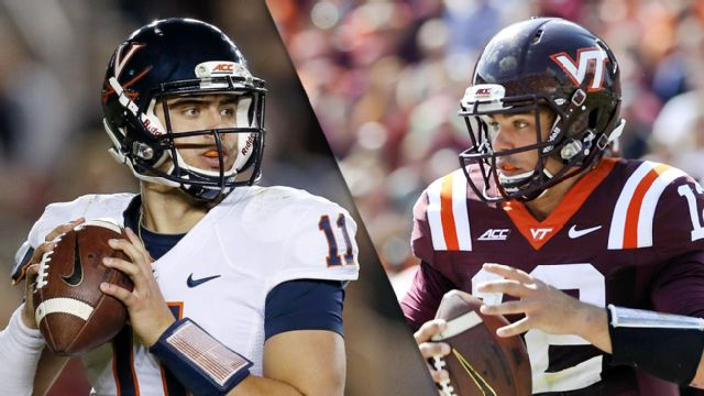 Virginia vs. Virginia Tech (Football) (re-air)