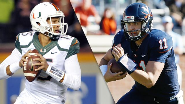Miami (Fla) vs. Virginia (Football) (re-air)