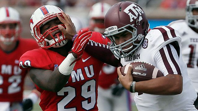 Texas A&M vs. SMU - 9/20/2014 (re-air)