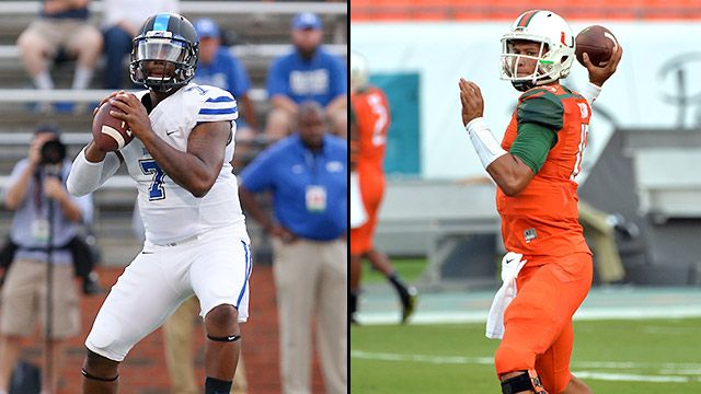 Duke vs. Miami (Football) (re-air)