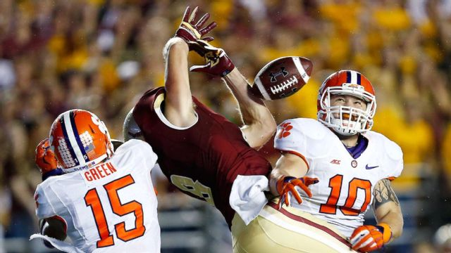 Clemson vs. Boston College (Football) (re-air)