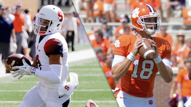 Syracuse vs. #21 Clemson (Football)