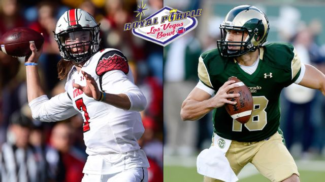 #22 Utah vs. Colorado State (Royal Purple Las Vegas Bowl)