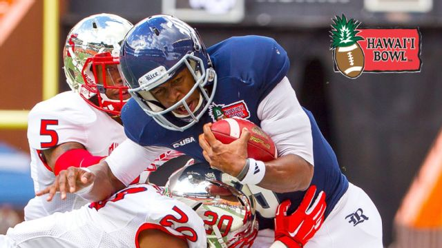 Fresno State vs. Rice (Hawai'i Bowl)