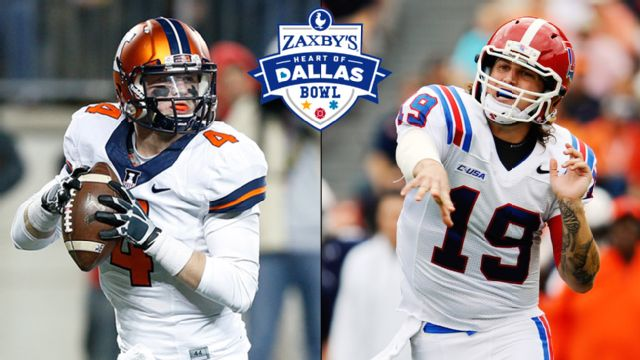 Illinois vs. Louisiana Tech (Zaxby's Heart of Dallas Bowl)