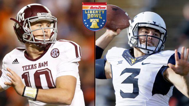 Texas A&M vs. West Virginia (AutoZone Liberty Bowl)