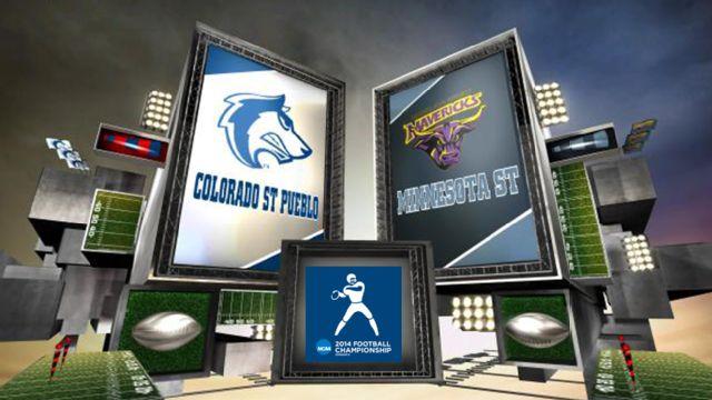 #2 Colorado State-Pueblo vs. #2 Minnesota State Mankato (Championship) (NCAA Division II)