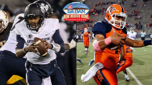 Utah State vs. UTEP (Gildan New Mexico Bowl)