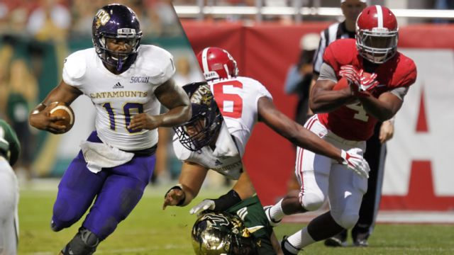 Western Carolina vs. #1 Alabama (Football)