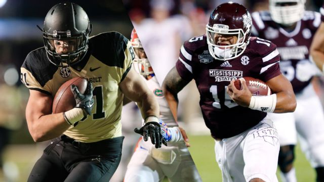 Vanderbilt vs. #4 Mississippi State (Football)