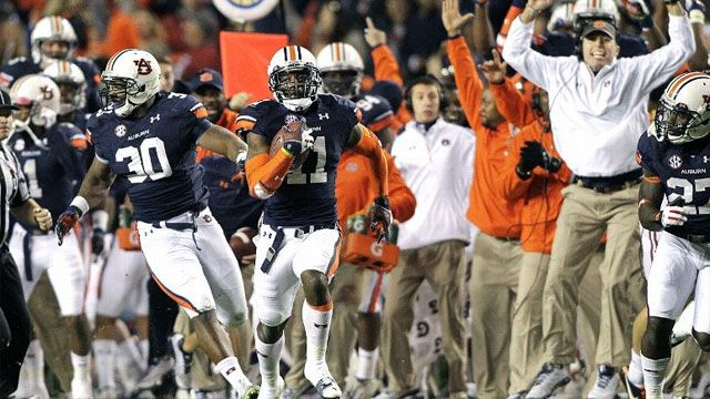 Alabama vs. Auburn - 11/30/2013 (re-air)
