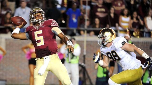 #5 Notre Dame vs. #2 Florida State (Football)