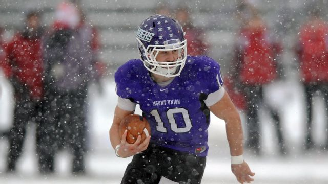 Wesley vs. Mount Union (OH) (Semifinal #1) (NCAA Division III Football) (re-air)