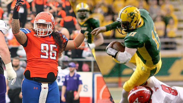 Sam Houston State vs. #2 North Dakota State (Semifinal #1) (NCAA FCS Championship)