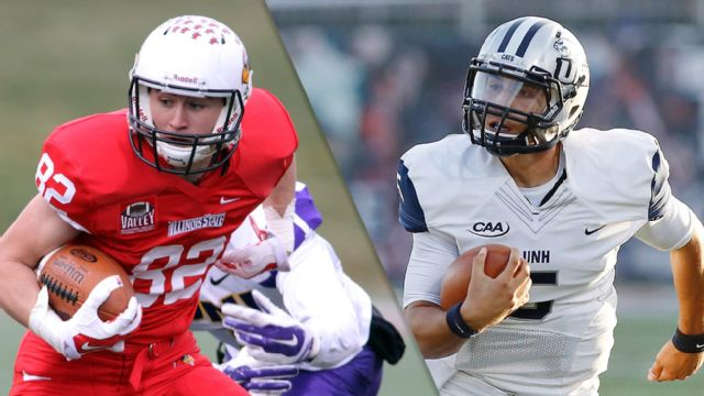 #5 Illinois State vs. #1 New Hampshire (Semifinal #2) (NCAA FCS Championship)