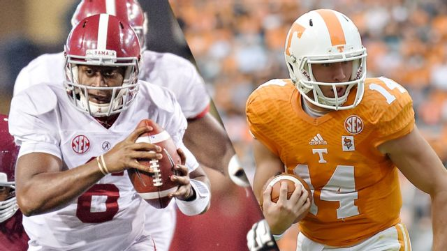 #4 Alabama vs. Tennessee (Football)
