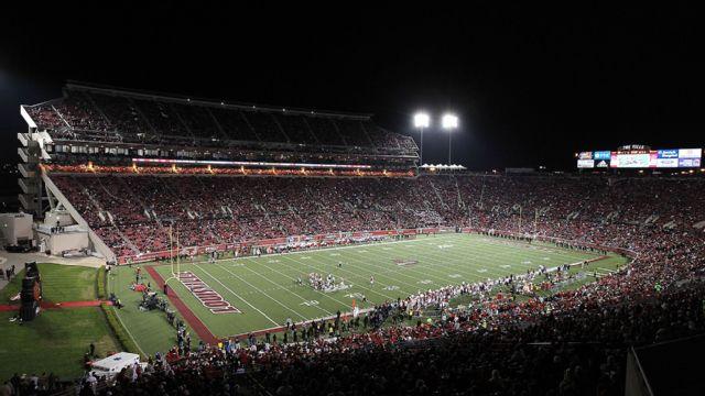 Skycam - #2 Florida State vs. #25 Louisville (Football)