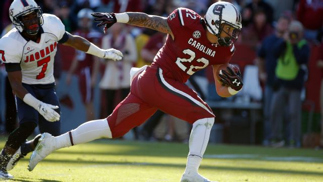 South Alabama vs. South Carolina - 11/22/2014 (re-air)