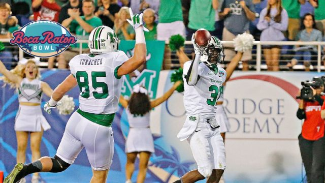 Marshall vs. Northern Illinois (Boca Raton Bowl)