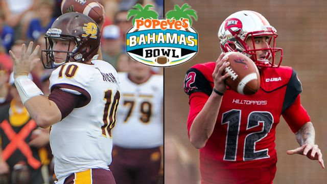 Central Michigan vs. Western Kentucky (Popeyes Bahamas Bowl) (re-air)