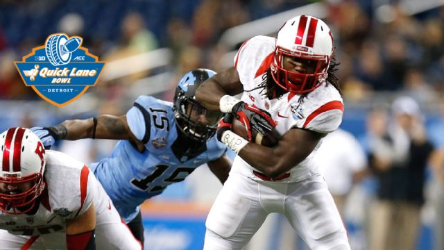 Rutgers vs. North Carolina (Quick Lane Bowl)