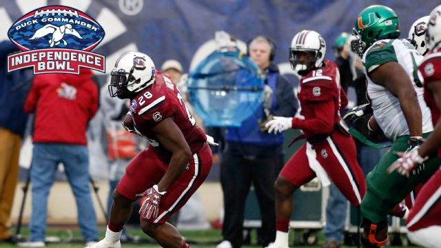 Miami (Fla) vs. South Carolina (Duck Commander Independence Bowl)