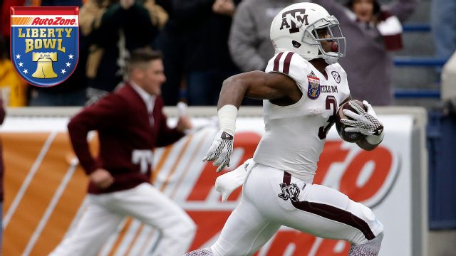 Texas A&M vs. West Virginia (AutoZone Liberty Bowl)