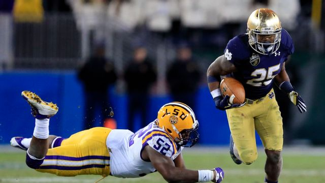 Notre Dame vs. #23 LSU - 12/30/2014 (re-air)