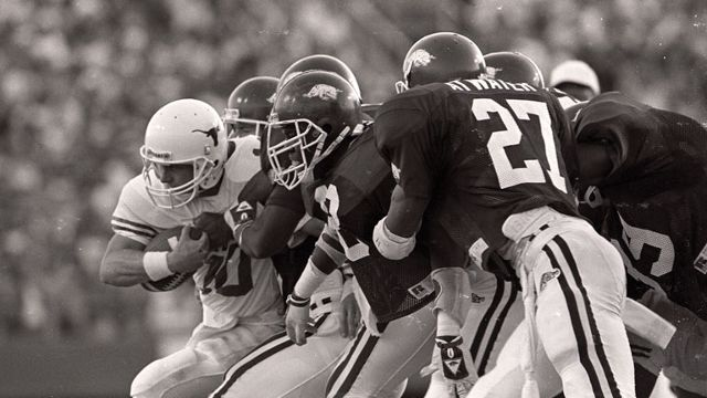 Texas Longhorns vs. Arkansas Razorbacks - 10/17/1987 (re-air)
