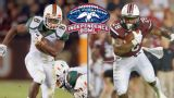In Spanish - Miami (Fla) vs. South Carolina (Duck Commander Independence Bowl)