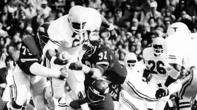 Texas Longhorns vs. Arkansas Razorbacks - 10/15/1977 (re-air)