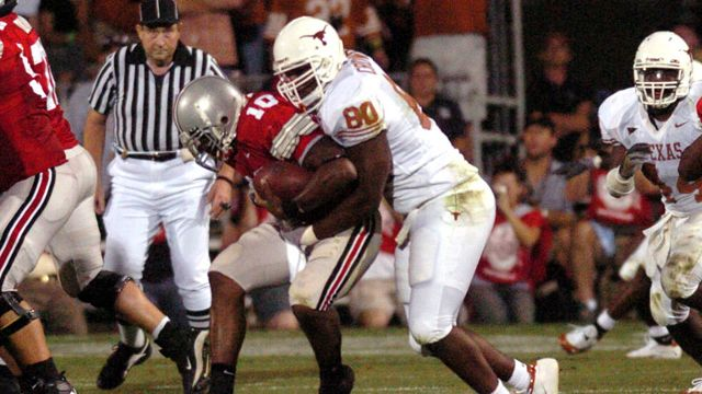 Texas Longhorns vs. Ohio State Buckeyes - 9/10/2005 (re-air)