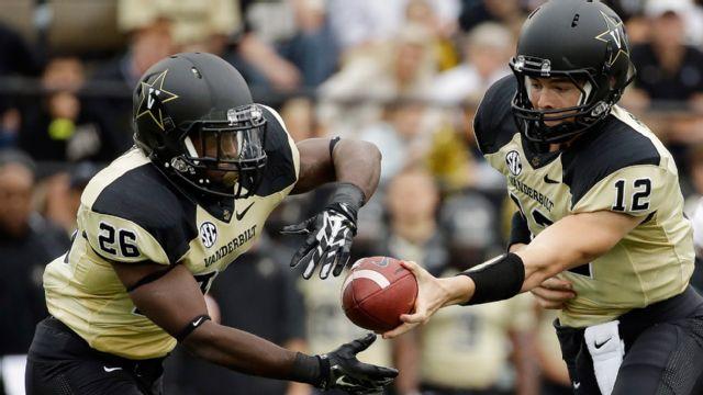 SEC Spring Football: Vanderbilt