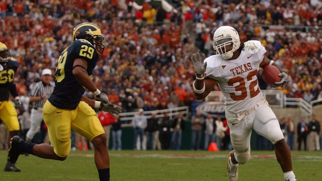 Texas Longhorns vs. Michigan Wolverines - 1/1/2005 (re-air)