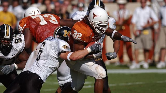 Missouri Tigers vs. Texas Longhorns - 10/16/2004 (re-air)