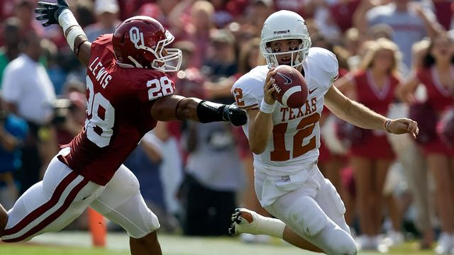Texas Longhorns vs. Oklahoma Sooners - 10/11/2008 (re-air)