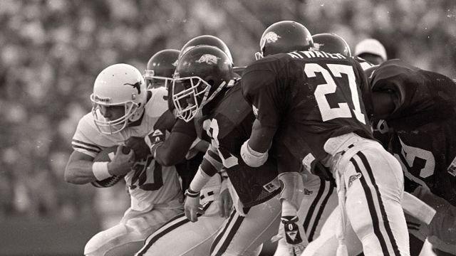 Texas Longhorns vs. Arkansas Razorbacks  - 10/17/1987