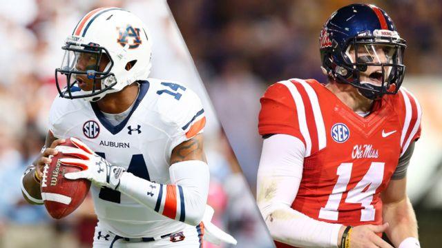 #3 Auburn vs. #4 Ole Miss (Football) (re-air)