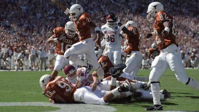 Oklahoma Sooners vs. Texas Longhorns - 10/14/1995 (re-air)