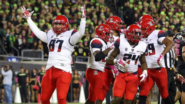 Arizona vs. Oregon (Football) (re-air)