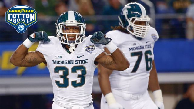 Michigan State vs. Baylor (Goodyear Cotton Bowl Classic) (re-air)