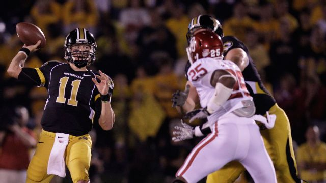 #1 Oklahoma vs. #11 Missouri - 10/23/2010 (re-air)