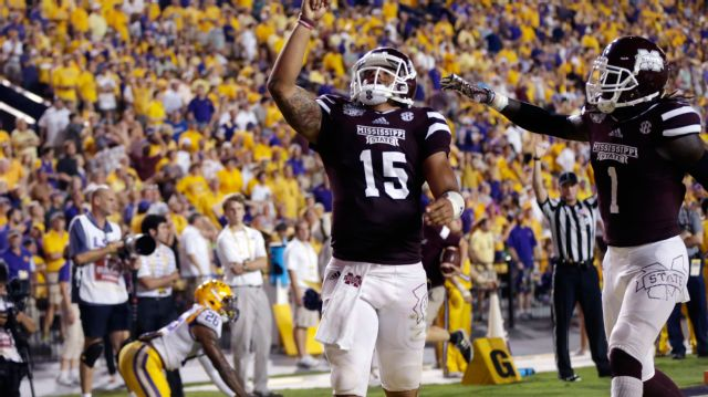 Mississippi State vs. #8 LSU - 9/20/2014 (re-air)