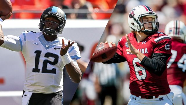 North Carolina vs. South Carolina - 9/3/2015 (re-air)
