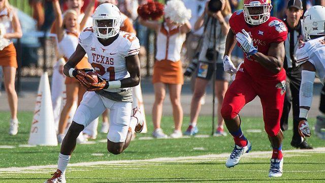 Texas vs. Kansas - 9/27/2014 (re-air)